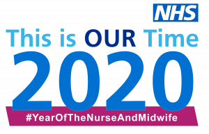 Logo for year of the nurse and midwife