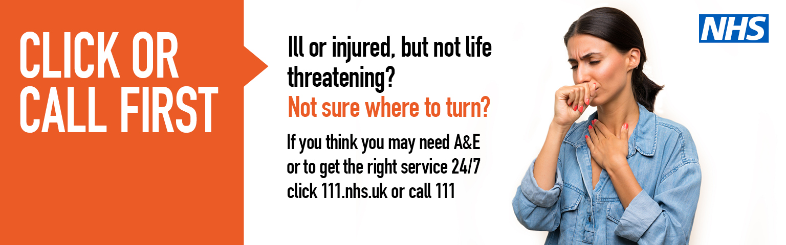 Click or Call to get the right NHS service